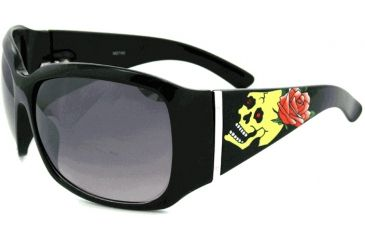 SOS Ink Sunglasses Rose Skull 9011