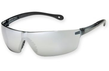 Survival Optics Sunglasses S.O.S.- Star Lite - Squared EyeShield - 4778 Gray Frame / Silver Mirror Safety Lenses