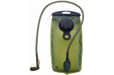 Source WXP 2L/70Oz Hydration Hydration Bladder - OD Green, Transparent 4500130002