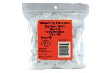 Southern Bloomer Cleaning Patches .204 Caliber 1000 Per Pack