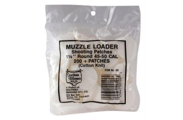 Southern Bloomer Muzzleloader Shooting Patches 1.25 Inch Round .015 Thickness