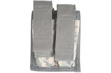 Spec Ops M-9 Double Magazine Pouch w/ Hook & Loop Closure, Military Camouflage - 100500213