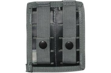 Spec Ops M-9 Double Magazine Pouch w/ Hook & Loop Closure, Black - 100500201