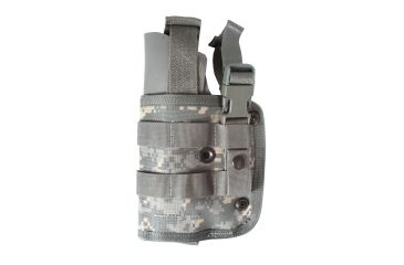 Spec Ops M.P.H. Multi-Position Holster, Left Hand, Military Camouflage - M-9 - 100660213