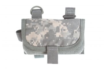 3-Spec Ops Ready-Fire Mode Buttstock Ammunition Pouch w/ Top-Mount For Sling