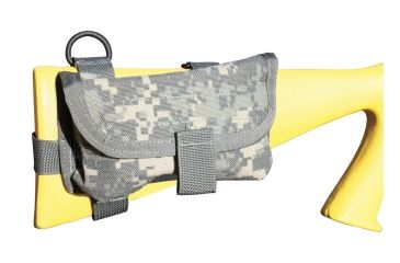 19-Spec Ops Ready-Fire Mode Buttstock Ammunition Pouch w/ Top-Mount For Sling