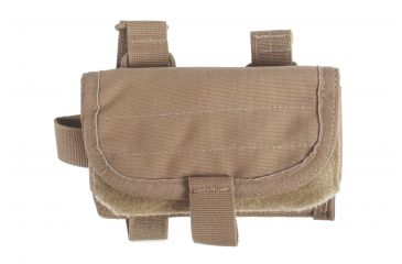 4-Spec Ops Ready-Fire Mode Buttstock Ammunition Pouch w/ Top-Mount For Sling