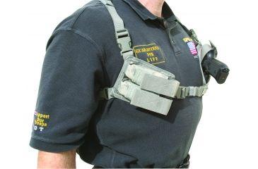 Spec Ops Shoulder Holster, Army Universal Camo, Ambidextrous - Beretta M9, Glock & Similar