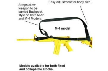 Spec Ops 3-Point Style Combat Weapon Sling 101