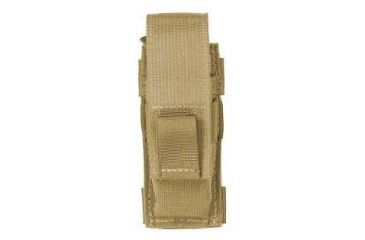 Specter Gear Belt Mounted Single Pistol Universal Magazine Pouch, Horizontal - Coyote 610 COY