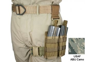 Specter Gear 30 rd. 5.56mm 2 Magazine Rapid Reload Tactical Thigh Rig,USAF ABU Camo 740 ABU