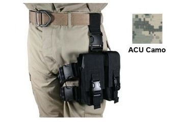 Specter Gear AR-15/M-16 Magazine Tactical Thigh Rig for Four 30rd Mags - ACU Camo
