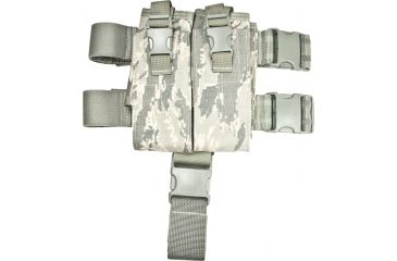 Specter Gear AR-15/M-16 Magazine Tactical Thigh Rig Four 30rd Mags - Air Force Tiger Stripe, 103-ABU