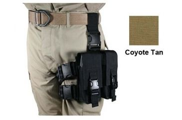 Specter Gear AR-15/M-16 Magazine Tactical Thigh Rig for Four 30rd Mags - Coyote