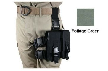 Specter Gear AR-15/M-16 Magazine Tactical Thigh Rig for Four 30rd Mags - Foliage Green
