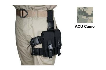 8-Specter Gear Double Magazine Pouch Tactical Thigh Rig for 30 Round 5.56mm M-16 / AR-15 Mags