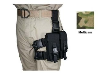 6-Specter Gear Double Magazine Pouch Tactical Thigh Rig for 30 Round 5.56mm M-16 / AR-15 Mags