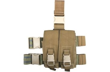 5-Specter Gear Double Magazine Pouch Tactical Thigh Rig for 30 Round 5.56mm M-16 / AR-15 Mags