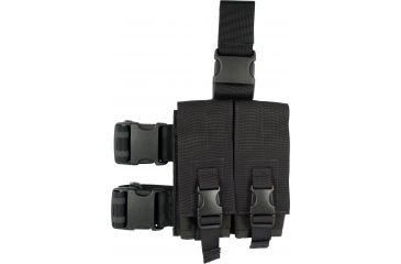 3-Specter Gear Double Magazine Pouch Tactical Thigh Rig for 30 Round 5.56mm M-16 / AR-15 Mags