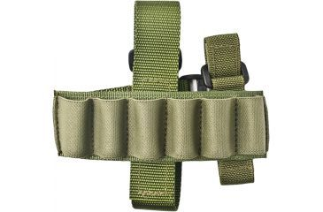 Specter Gear Buttstock 6 Shell Holder, Remington 870 & 11/87, Ambidextrous, OD Green, 058-OD