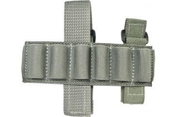 Specter Gear Buttstock 6 Shell Holder, Remington 870 & 11/87, Ambidextrous, Foliage Green