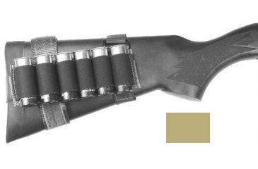 Specter Gear Buttstock 6 Shell Holder w/ Rear Adapter, Benelli M1 & M3, Coyote