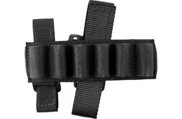 Specter Gear Buttstock Shell Holder (holds 6 shells), Remington 870 & 11/87, Ambidextrous Black