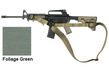 Specter Gear CQB Sling, M-4A1 with Magpul Collapsible Stock, Ambidextrous,Foliage Green 694 FG