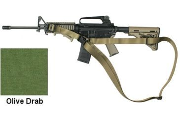 Specter Gear CQB Sling, M-4A1 with Magpul Collapsible Stock, Ambidextrous,OD Green 694 OD
