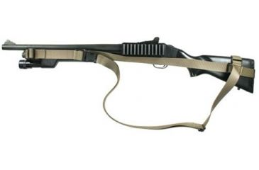 Specter Gear CQB Sling, Mossberg 500 reduced length of pull stock, Ambidextrous, w/ ERB - Coyote
