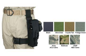Specter Gear Mk 9 Chemical Agent Dispenser Tactical Thigh Rig Black 663blk