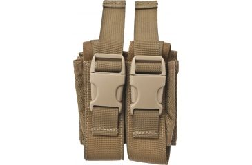 Specter Gear Molle Double 40mm Grenade Pouch Coyote Tan