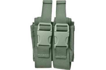 Specter Gear MOLLE Double 40mm Grenade Pouch, Foliage Green