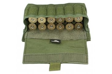 8-Specter Gear Shotshell Pouch, MOLLE Compatible, holds 12 shells