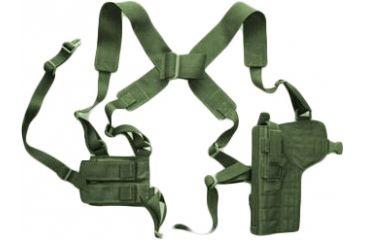 7-Specter Gear Vertical Shoulder Holster w/ Double Pistol Mag Pouch, M9 / Beretta 92F