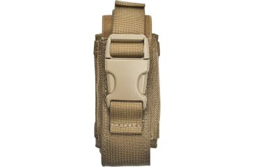 Specter Gear Single 40mm Grenade Pouch, MOLLE Compatible - Coyote Tan