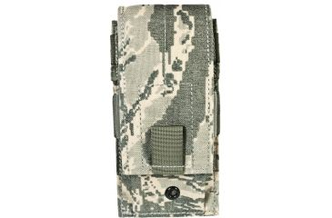 Specter Gear Single Universal Rifle Magazine Pouch, MOLLE Compatible - Air Force Tiger Stripe, 271-ABU