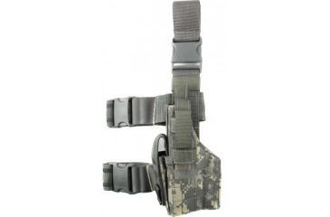 Specter Gear Tactical Thigh Holster, Glock 20 / 21, 4.60 bbl, Right Hand ACU Camo