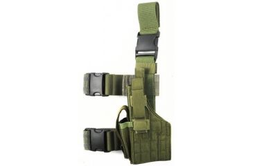 Specter Gear Tactical Thigh Holster, Sig P226 / P220, 4.4 bbl, Right Hand - OD Green
