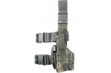 Specter Gear Tactical Thigh Holster, 1911A1 Type, 5in. bbl, L Hand - Air Force Tiger Stripe, 191-LH-ABU
