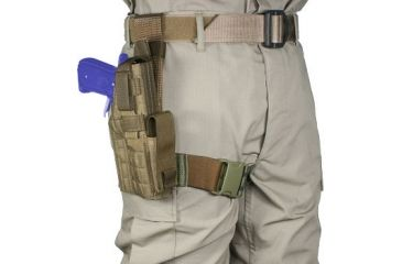 Specter 530 Tactical Thigh Holster S&W M&P 9/40, 4.25 in. Barrel
