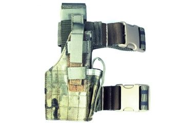 Specter Gear Tactical Thigh Holster, Glock 20 / 21, 4.60in bbl, Right Hand -MultiCam, 246-RH-MULT