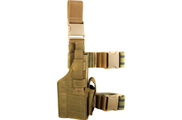 Specter Gear Tactical Thigh Holster, Right, Coyote 192RHCOY