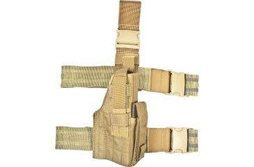 Specter Gear Tactical Thigh Holster, Right Hand, S&W M&P 9/40 4.25in BBL - Coyote 530 RH-COY