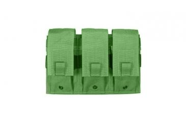 Specter Gear Triple Universal Rifle, Carbine, SMG Magazine MOLLE Pouch - OD Green