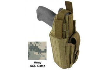 Specter Gear Universal Modular Tactical Holster, Left Hand,Army ACU Camo 744 LH-ACU
