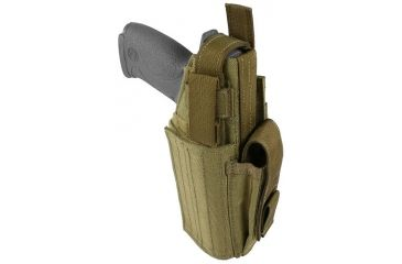 Specter Gear Universal Modular Tactical Holster, Left Hand,Coyote 744 LH-COY