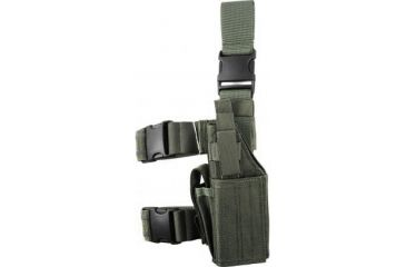 Specter Gear Universal Tactical Thigh Holster - Left Hand, Foliage Green 607 LH-FG