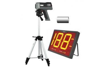 Bushnell Speedster 3 Radar Gun Sports Kit - Speedster III, Batteries, Radar Tripod and Wireless Speed Screen Display 101922