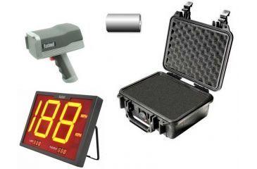 5-OpticsPlanet Exclusive Bushnell Speedster III Multi-Sport Radar Gun w/ LCD Display